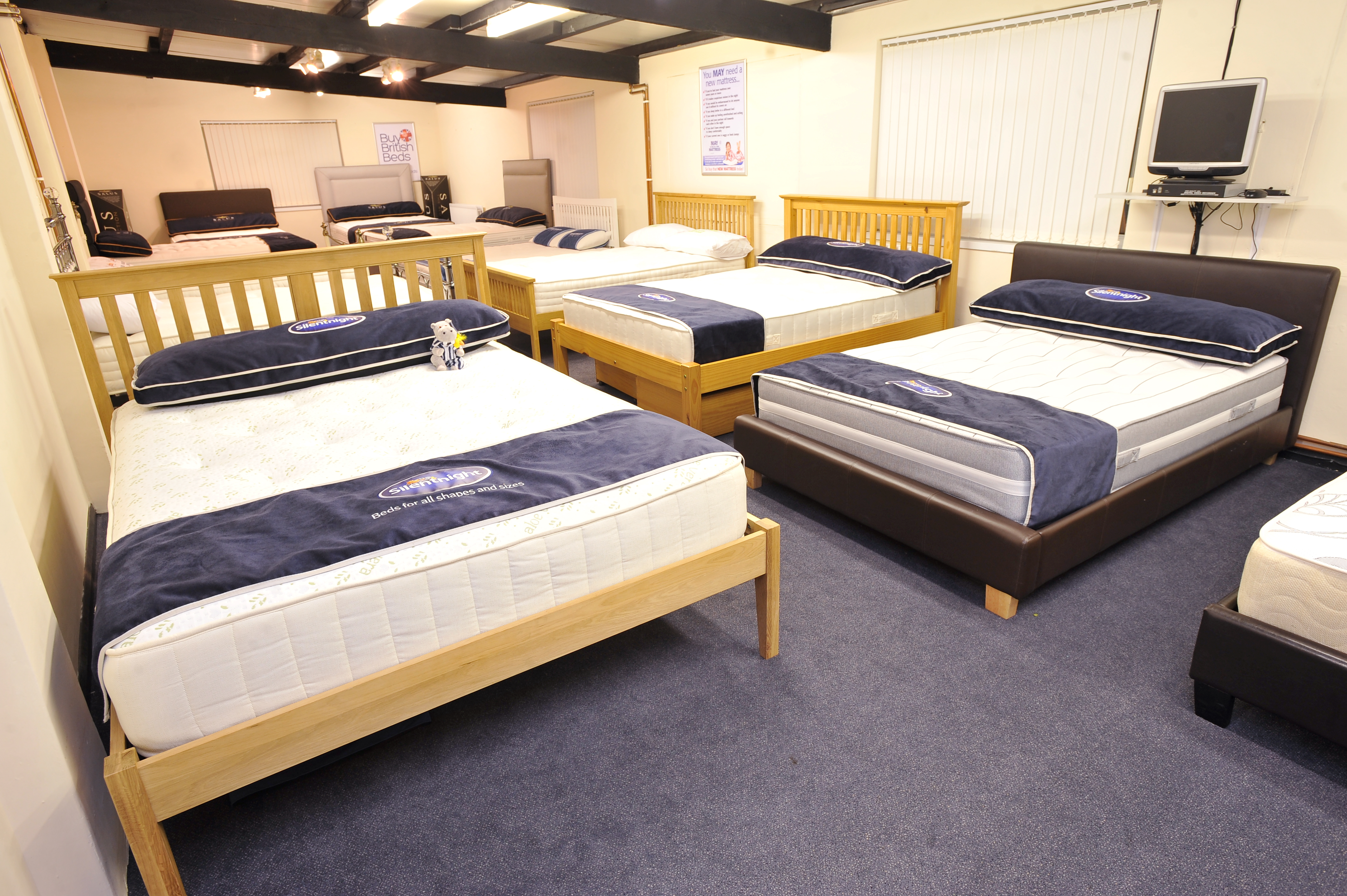 Beds bed frames the bed shop in ashby for Futon and mattress shop